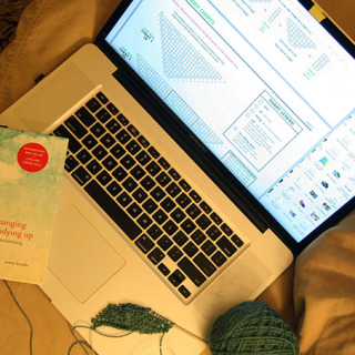 Knitting Reading and the Art of Tidying Up