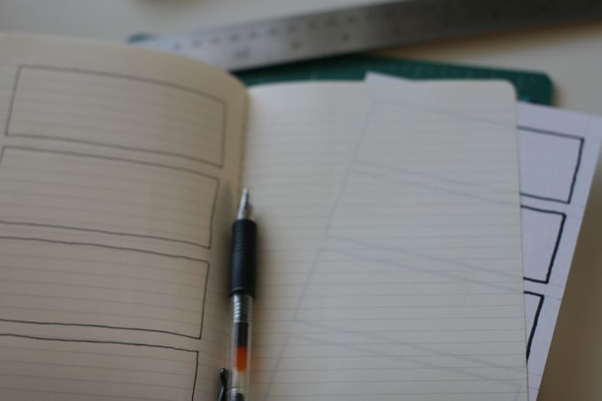 moleskine garden bullet journal